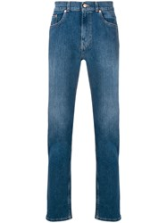 Tom Wood Classic Slim Fit Jeans Blue