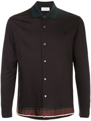 Cerruti 1881 Contras Collar Shirt Purple