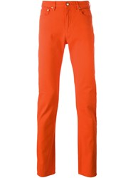 Paul Smith Ps By Skinny Jeans Yellow Orange