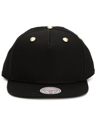 Palm Angels Studded Baseball Cap Black