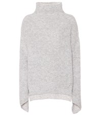 81 Hours Bay Alpaca And Wool Blend Sweater Grey