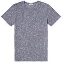 Schiesser Rudolph Micro Stripe Pocket Tee Night Blue