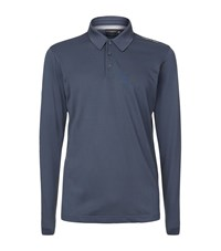 Porsche Design Pique Polo Shirt Male Blue