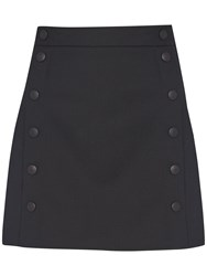 French Connection Summer Talulah Mini Skirt Black