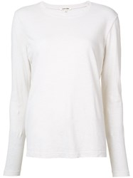 Cotton Citizen Long Sleeved T Shirt Women Xs White