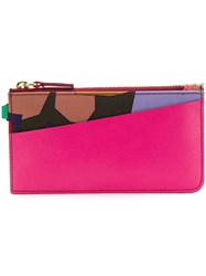 Paula Cademartori Zipped Card Holder Pc Maxi Multicolour