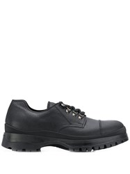 Prada Trekking Derby Shoes Black