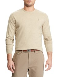 Ralph Lauren Polo Golf By Long Sleeve Crew Neck Sweater Expedition Dune Heather
