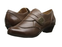 Aetrex Danielle Monk Strap Brown Women's Monkstrap Shoes