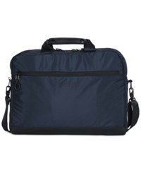 Kenneth Cole Reaction Two Tone Computer Case Navy
