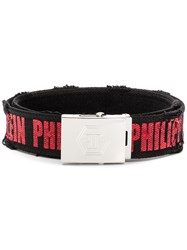 Philipp Plein Harry Belt Black