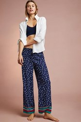Floreat Frances Sleep Pants Blue Motif