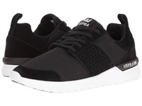 Supra Scissor Black Suede White Women's Skate Shoes