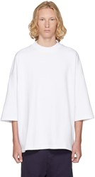 D By D Ssense Exclusive White Oversized T Shirt