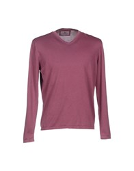 Della Ciana Knitwear Jumpers Men Mauve