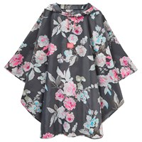 Joules Floral Poncho Multi