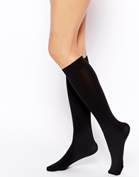 Gipsy Soft Cosy Knee High Socks Black