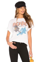 Junk Food Acdc European Tour Tee White