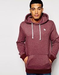 Abercrombie And Fitch Hoodie Burgundy