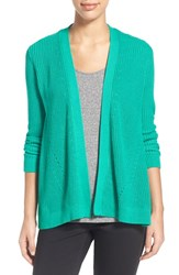 Women's Chaus Ribbed Open Front Cardigan