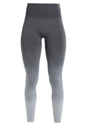 Lorna Jane Bianca Seamless Tights Gomb Grey