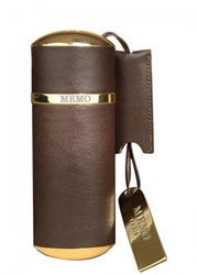 Memo Brown Leather Purse Spray