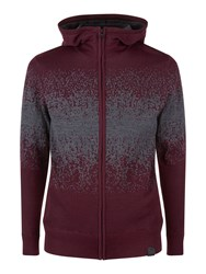 Victorinox Men's Maestro Full Zip Cardigan Purple