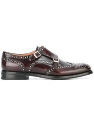 Church's 'Ady' Monk Shoes Red