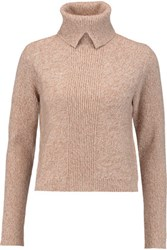 Magaschoni Wool And Cashmere Blend Turtleneck Sweater Brown