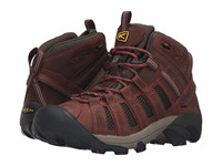 Keen Voyageur Mid Barley Bossa Nova Men's Hiking Boots Brown