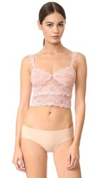 Only Hearts Club So Fine Lace Cropped Camisole Nudie