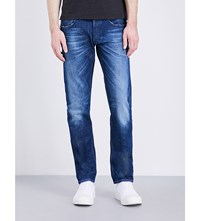 Replay Grover Slim Fit Tapered Jeans Blue
