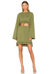 Fenty By Puma Kimono Suspender Dress Green