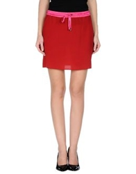 Cnc Costume National C'n'c' Costume National Mini Skirts Red