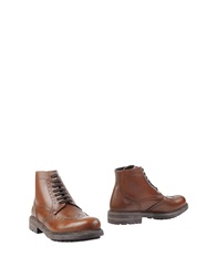 Gold Brothers Ankle Boots Cocoa