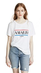 South Parade Amalfi Coast Tee White