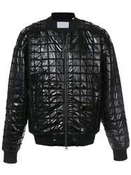Private Stock Ma 1 Quilted Bomber Jacket Polyamide Polyester Wool Xl Black