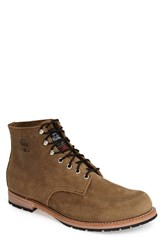 Men's Woolrich 'Yankee Mid' Leather Boot Stone
