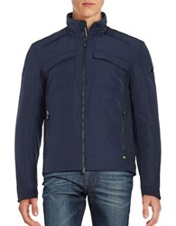 Hugo Boss Thermal Insulated Tech Jacket Navy