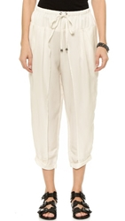 Free People Harem Tie Pants White