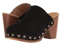 Free People Ring Leader Clog Black Women's Clog Shoes