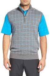 Bobby Jones Men's 'Bunker' Merino Wool Wind Sweater Vest