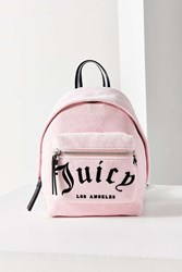 Juicy Couture For Uo Velvet Mini Backpack Pink