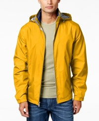 Weatherproof Men's Hooded Stand Collar Jacket
