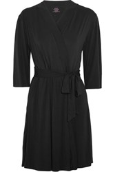 Commando Butter Perfect Stretch Micro Modal Robe Black