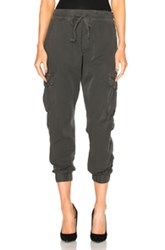 Nsf All Day Johnny Pants In Gray Black Gray Black