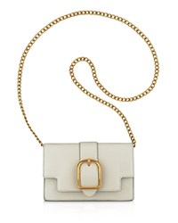 Anne Klein Peggy Leather Crossbody Stone Gold