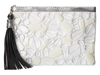 Rafe New York Large Celia Clutch Sea Glass Clutch Handbags Multi