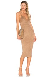 Donna Mizani Mara Midi Dress Brown