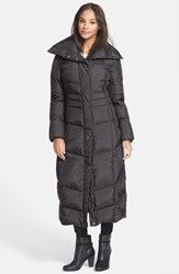 Cole Haan Women's Long Down And Feather Fill Coat